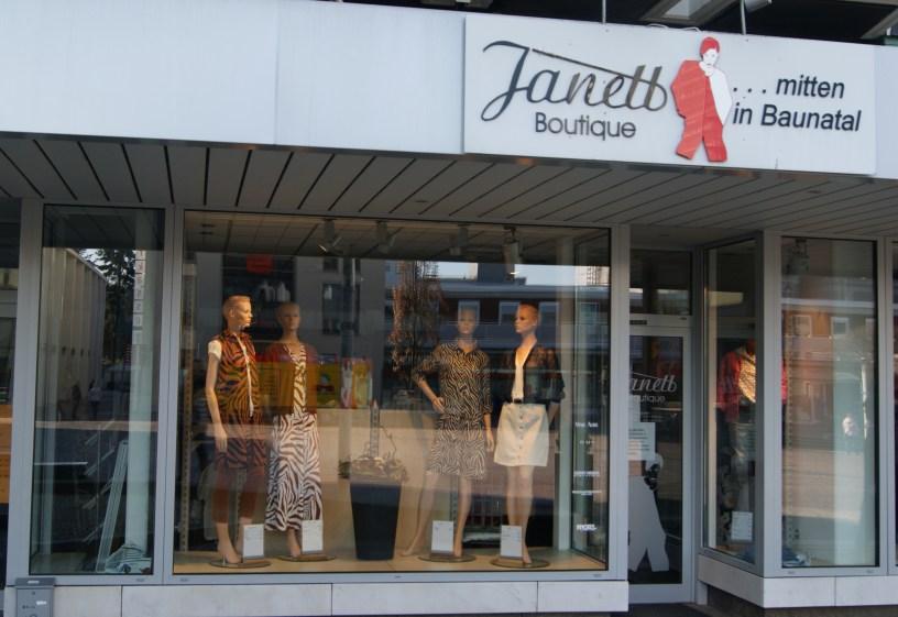 Boutique Janett, bauatal, Baunatalzusammen, City Baunatal
