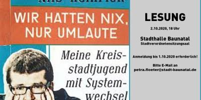 Sangerhausen, Baunatal, Städtepartnerschaft, Wiedervereinigung, Veranstaltung