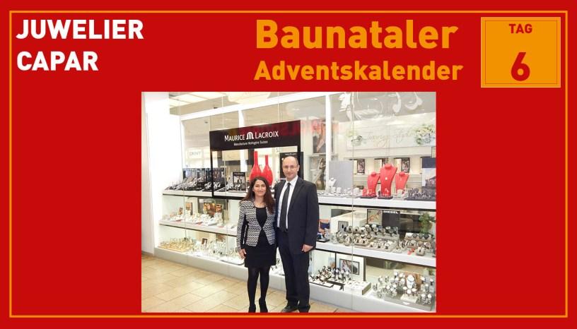 Juwelier Capar, Baunatal, Baunataler Adventskalender, Landkreis Kassel, Stadtmarketing, Wirtschaft