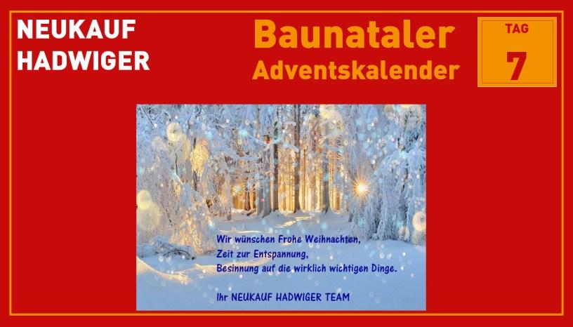 Hadwiger, Baunatal, Baunataler Adventskalender, Landkreis Kassel, Stadtmarketing, Wirtschaft