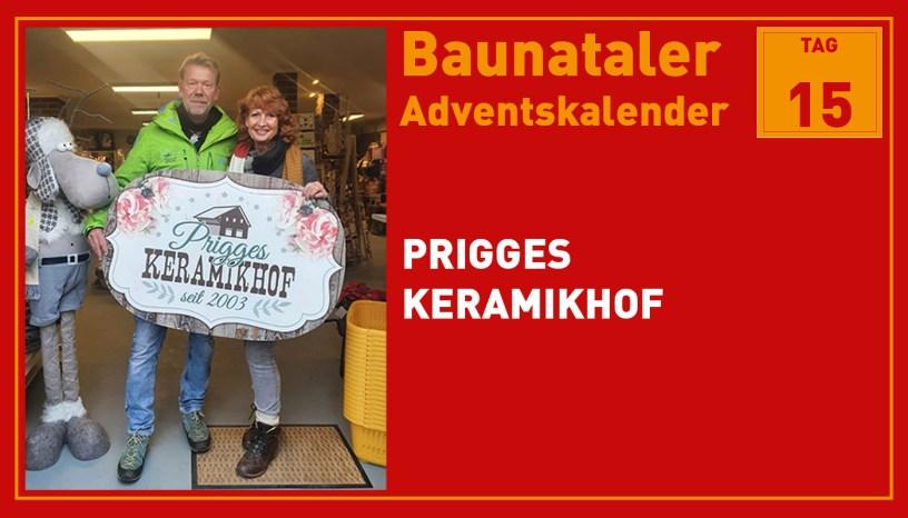 Prigges Keramikhof, Baunatal, Baunataler Adventskalender, Landkreis Kassel, Stadtmarketing, Wirtschaft