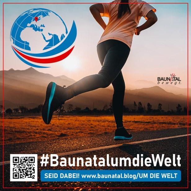 Baunatalumdiewelt, sport, baunatal, hessen, deutschland, Welt, laufen, walking