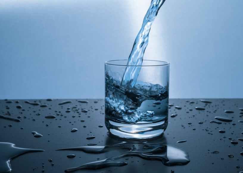 Trinen, Trinkwasser, Glas, Wassertropfen