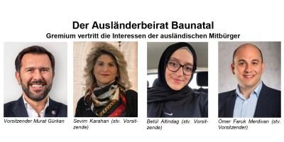 Baunatal, Ausländerbeirat, Murat Gürkan, Betül Altindag, Sevim Karahan, Ömer Faruk Merdivan