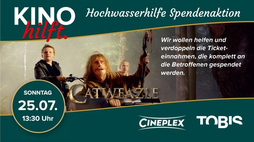 Baunatal, Cineplex, Deutschland, Deutschland hilft, Cateweazle