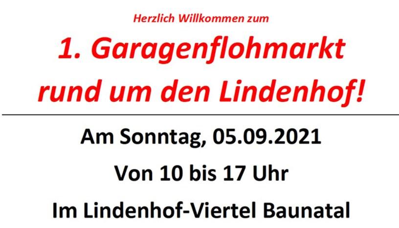 Garagenflohmarkt, Altenbauna, Lindenhof