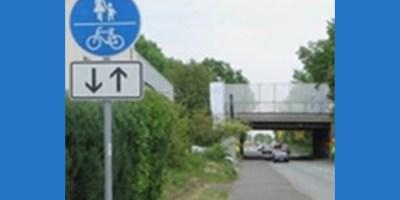 Baunatal, Radweg, Fußweg, Regeln