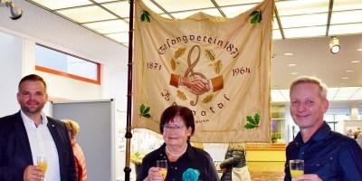 Erster Stadtrat Daniel Jung, Gisela Schüttler, Andreas Kowalczyk