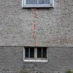 Risse im Putz, Bereich der Fensterbrüstung