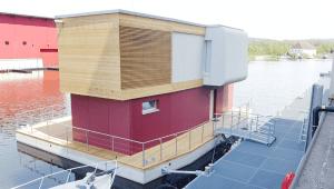 fassade hausboote platten brandschutz A2 Bootdesign Cetris Bausal GmbH