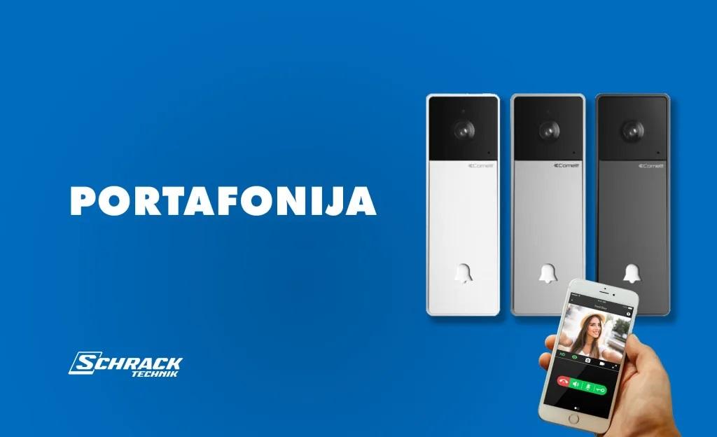 Za dobrodošlicu sa stilom: Schrack portafonski sustavi – pozivne jedinice!