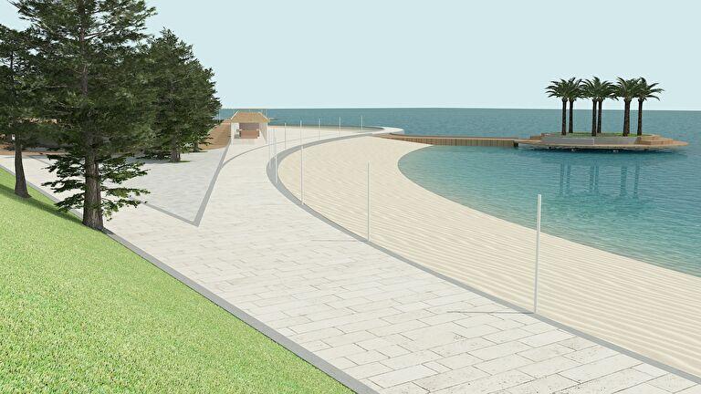 Radovi se bliže kraju: Zadrani će za tjedan dana moći uživati u novouređenom izdanju najveće gradske plaže