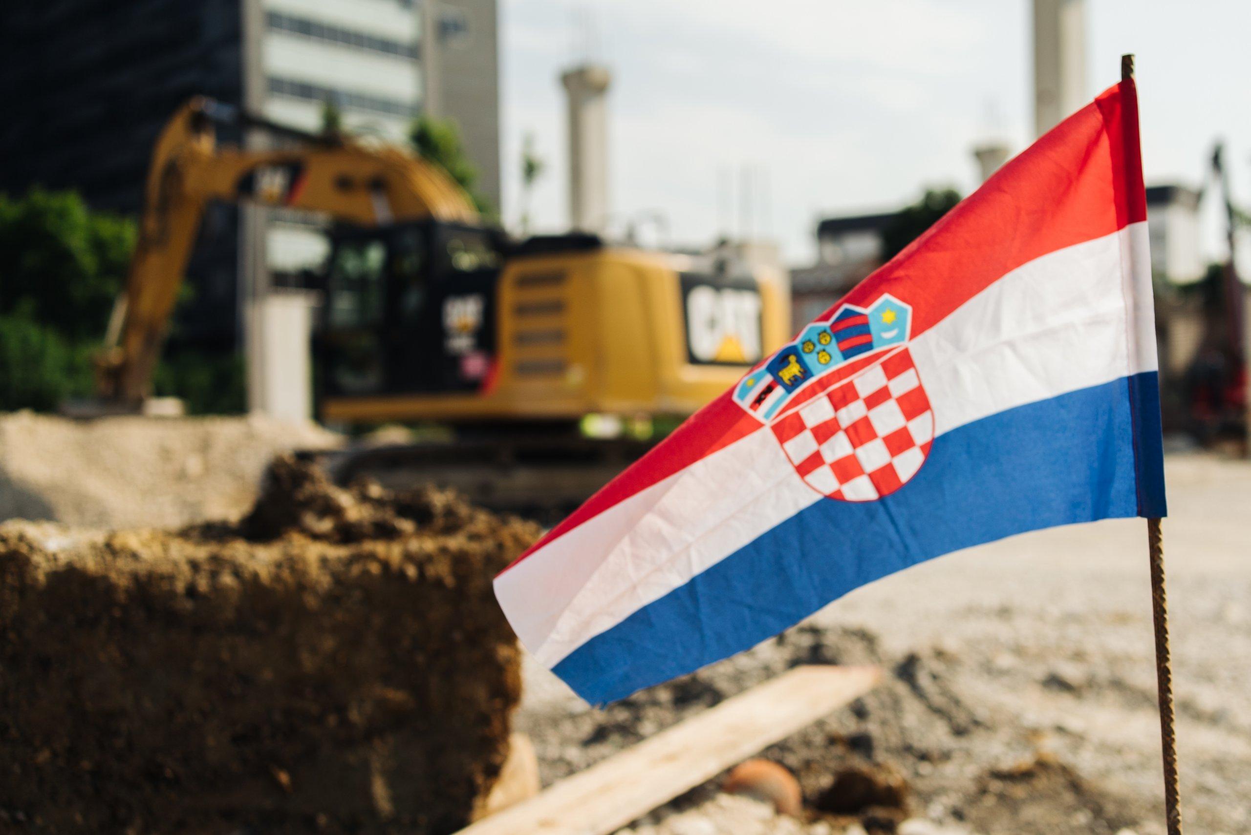 I na baušteli krenule pripreme za utakmicu između Hrvatske i Češke