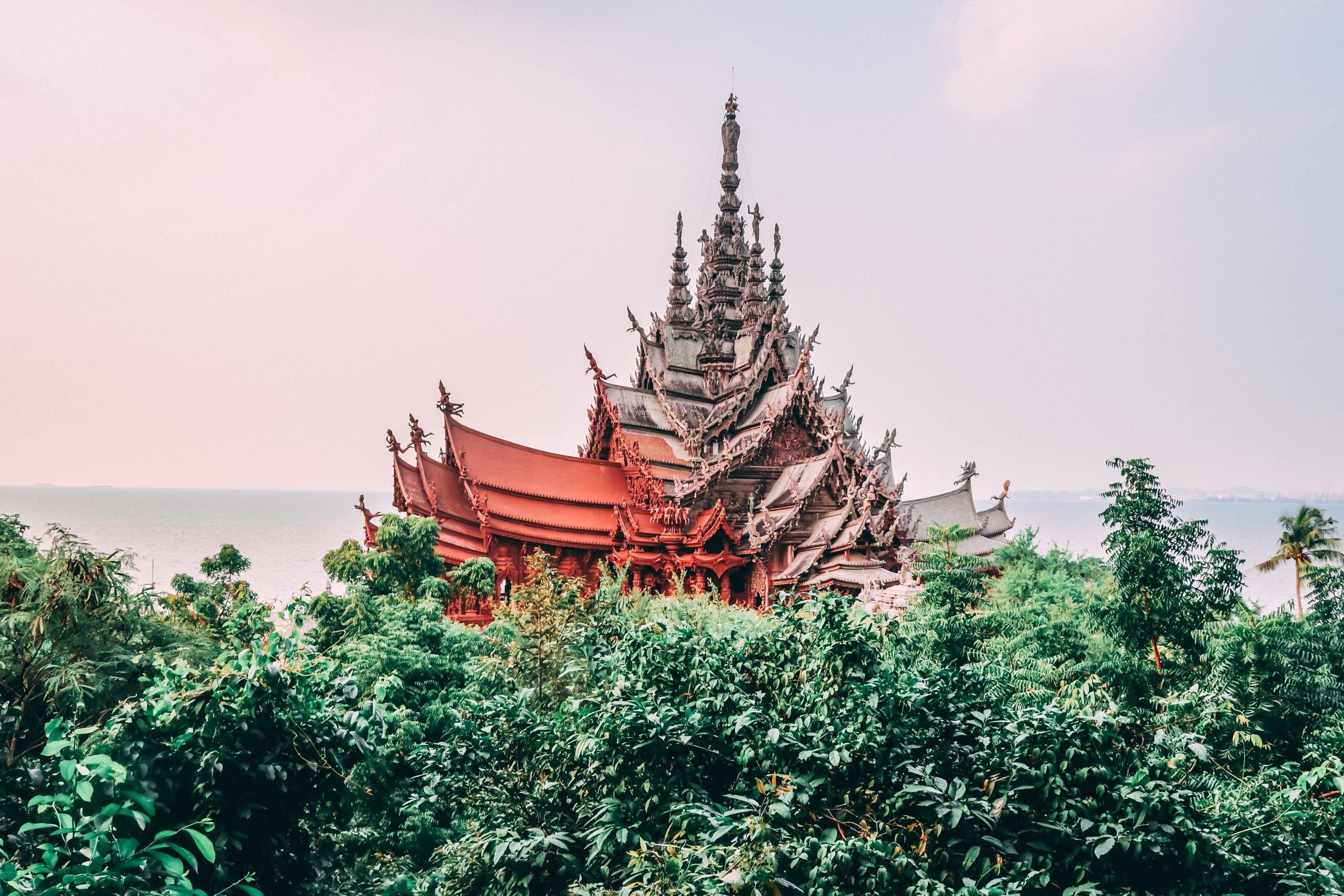 Znate li po čemu je poznat tajlandski hram istine?