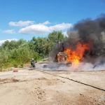 Požar radnog stroja
