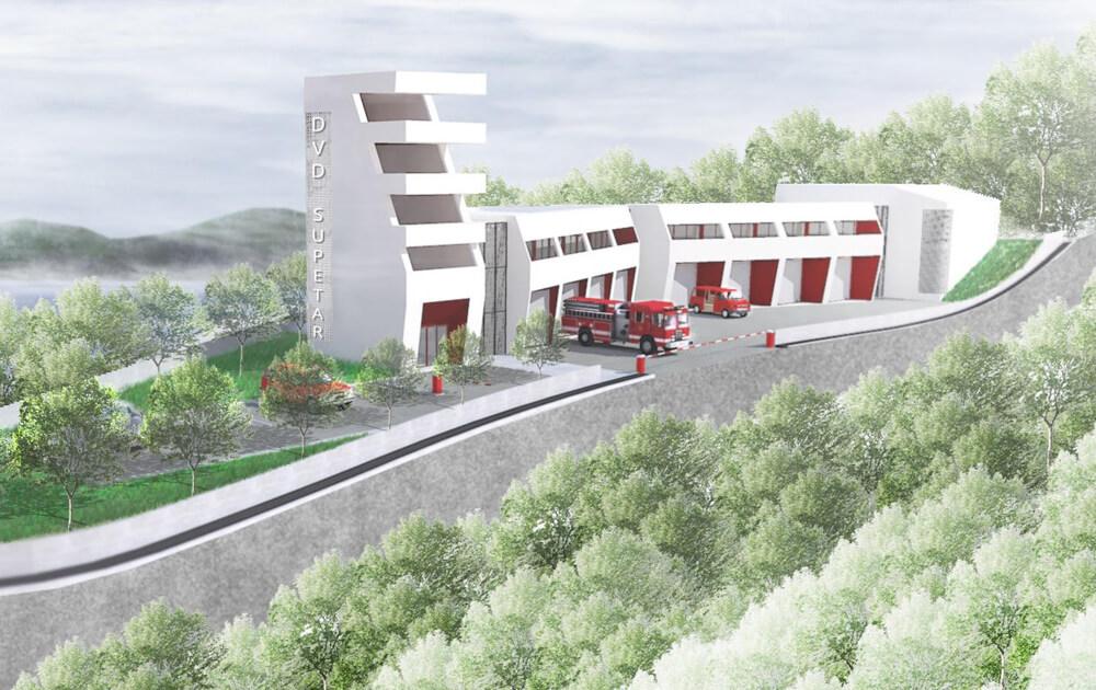 Novi vatrogasni dom u Supetru vrijedan preko 2 milijuna eura