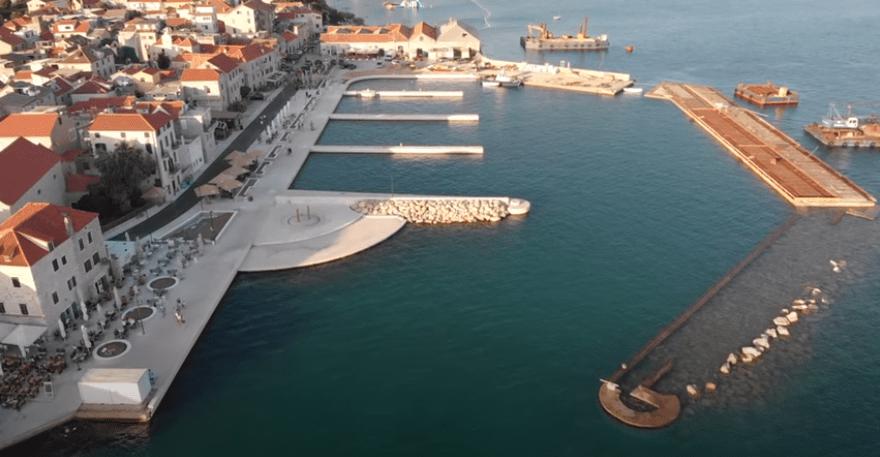 Gradi se još jedna suvremena pomorska luka na Jadranu, a svjetlo dana već je ugledala nova šetnica