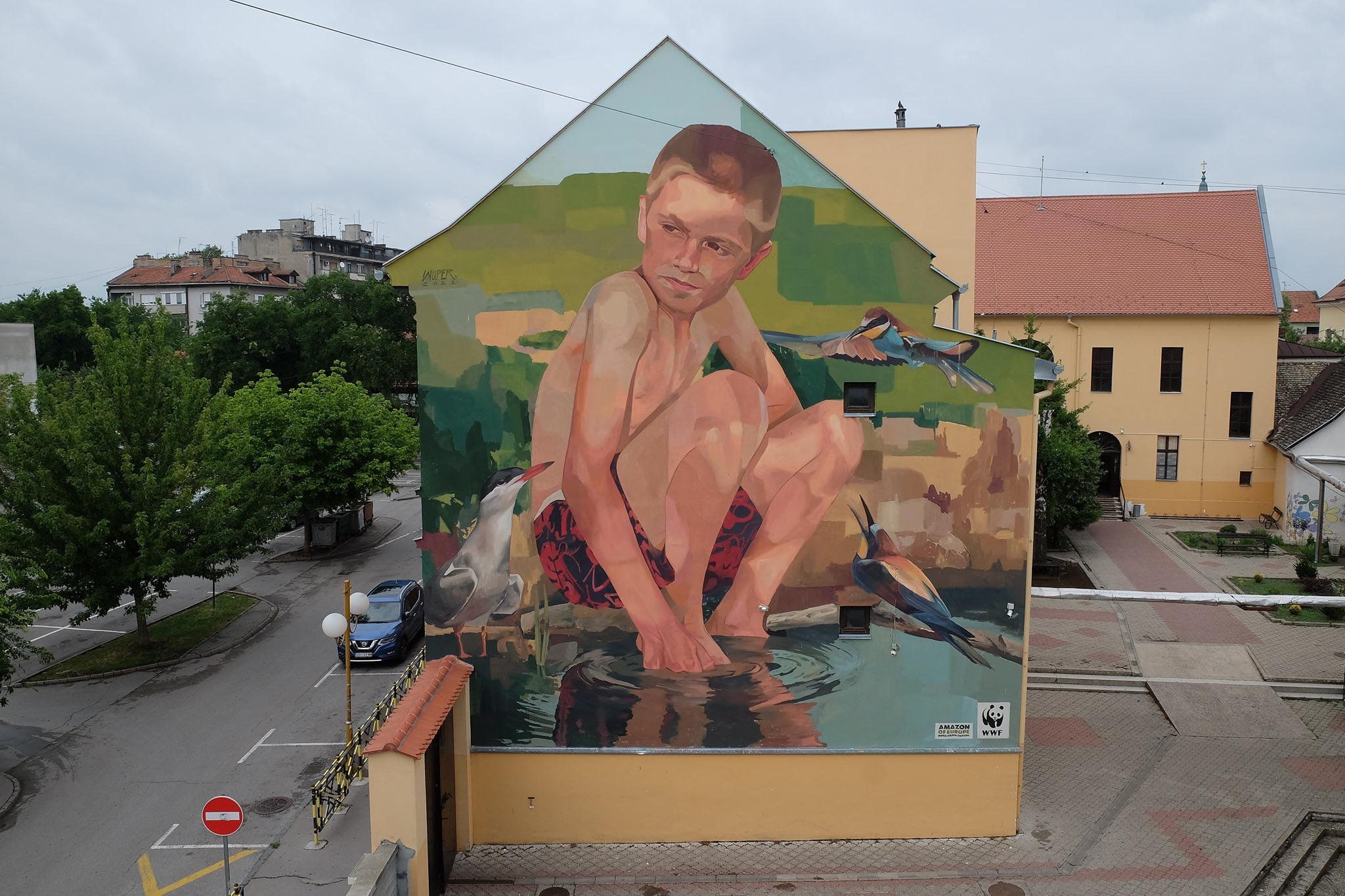 [FOTO] Poruka koju šalje ovaj mural danas odzvanja glasnije nego ikad
