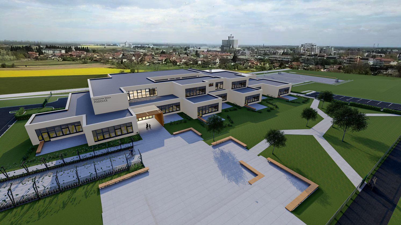 Pogledajte kako napreduje izgradnja nove škole u Koprivnici