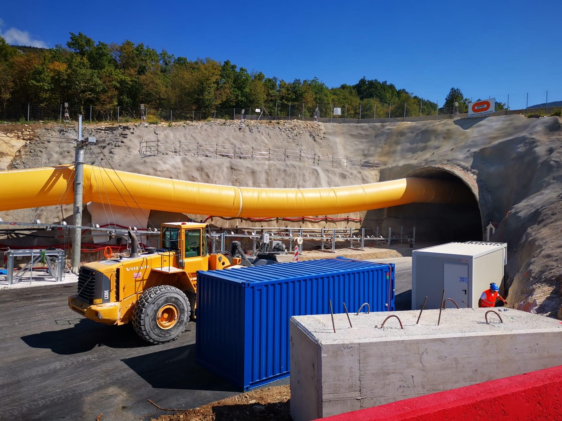 Druga cijev tunela Učka probija se s tisuću kilograma eksploziva dnevno