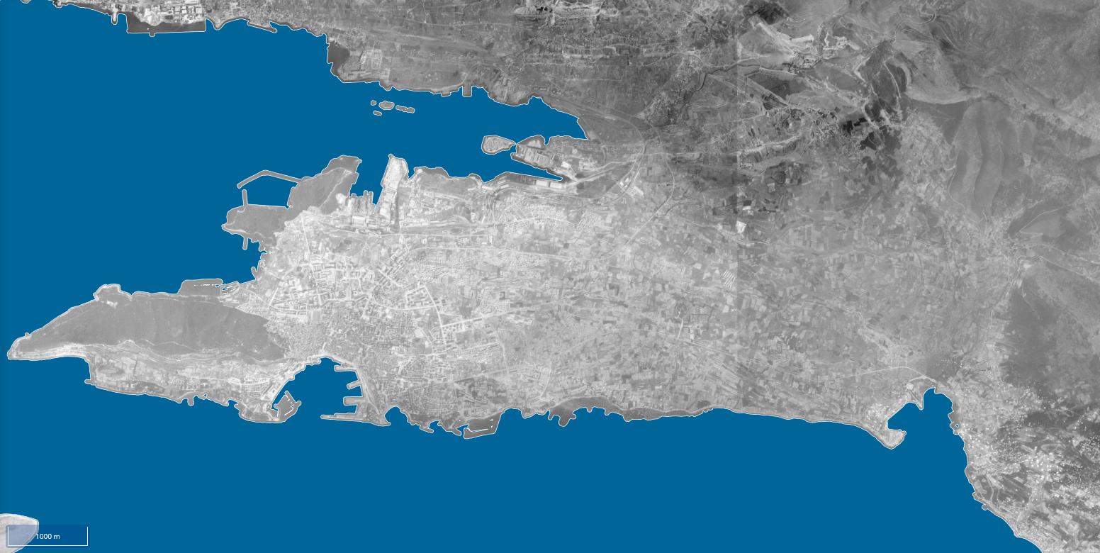 Pogledajte kako su Split i okolica izgledali 1968. godine kad neki kvartovi nisu ni postojali