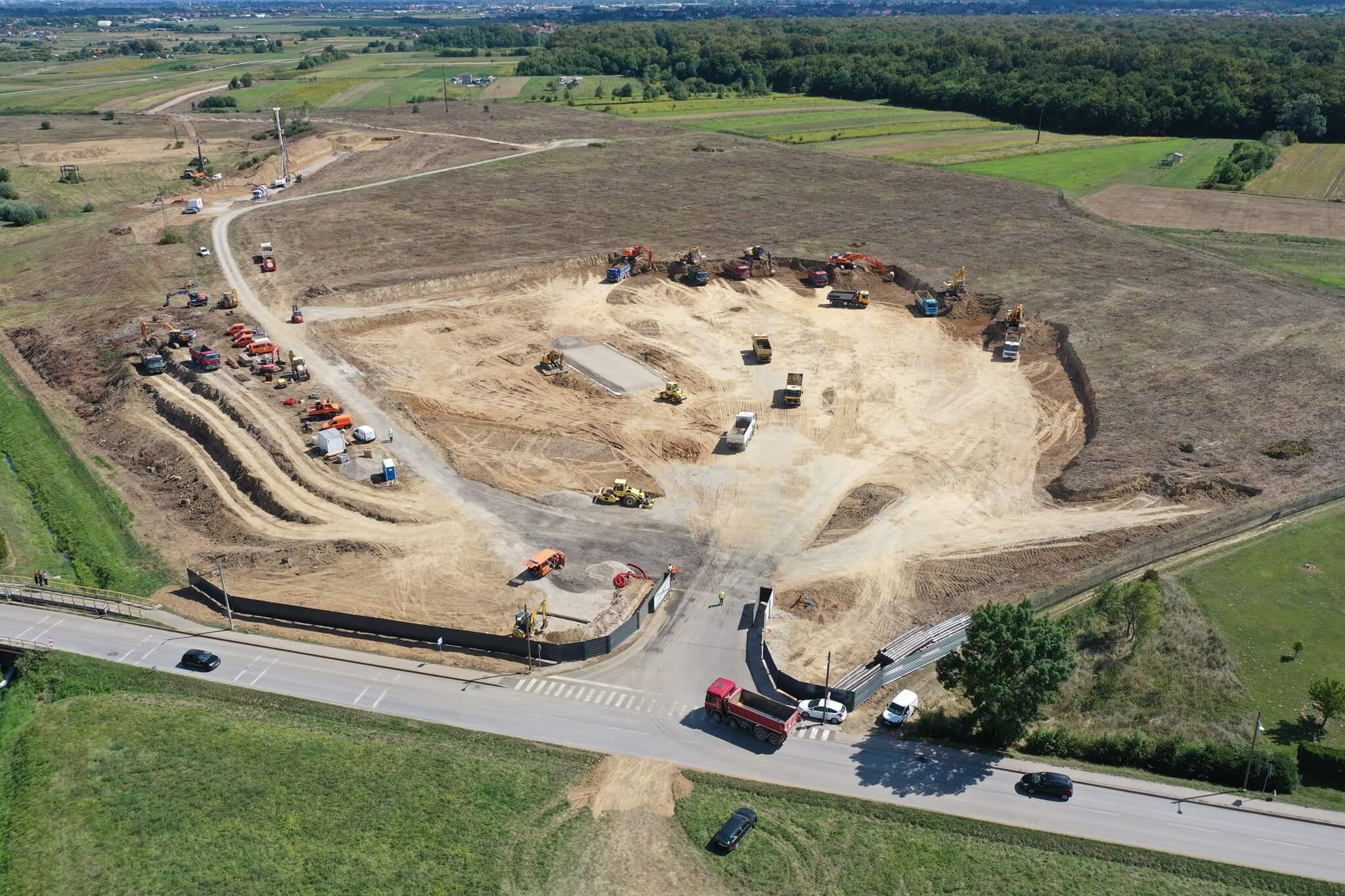 [FOTO] Započela gradnja Rimac Campusa, evo kako će izgledati!