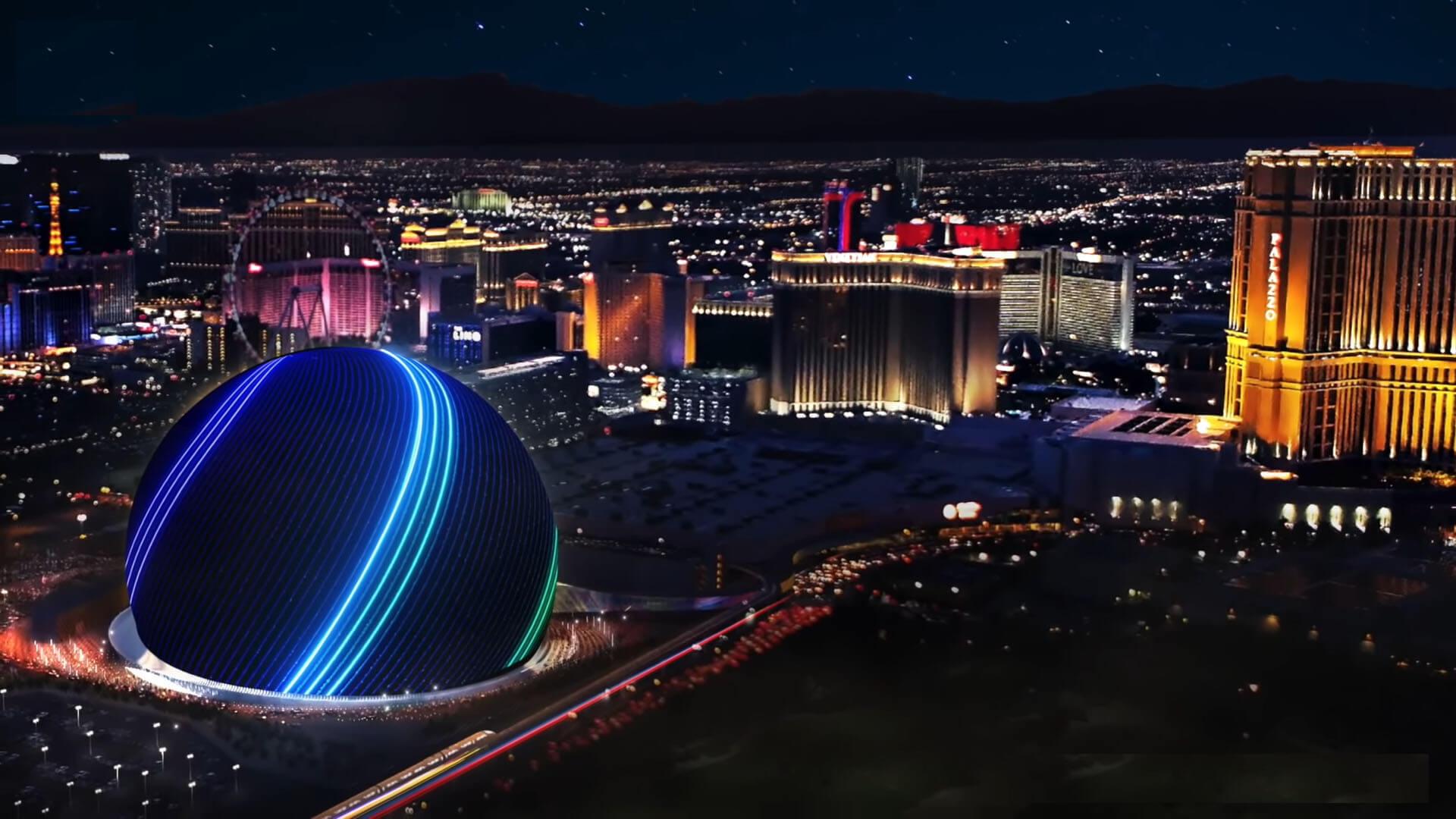 Nova arena u Las Vegasu je mix tehnologije i arhitekture
