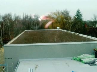 Dach Fahrzeughalle OFW