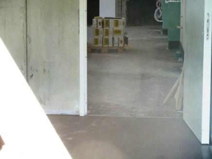 Fliesen Werkstatthalle