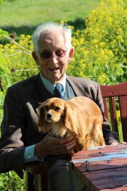 Min Pappas bror, som fyllde 90 år 17/5!
