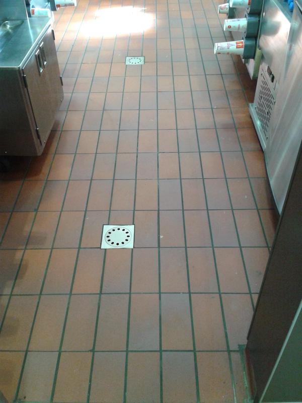 haccp floor tiles in fast food