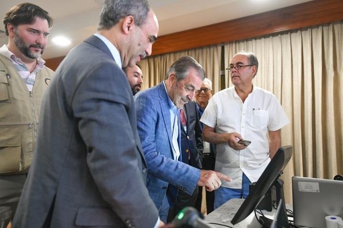 JCE presenta modelo de Voto Automatizado a observadores de la OEA