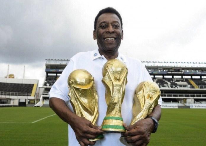 'O Rey' Pelé, el único tricampeón mundial, arriba a sus 80 años