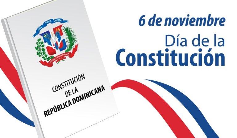 Hoy se conmemora el Día de la Constitución Dominicana, ¡Nación libre, independiente y soberana!