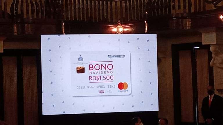 Dominicanos empiezan a recibir su Bono Navideño de RD$1,500 a partir de hoy