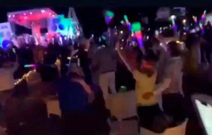 (VÍDEO): Así fue la fiesta masiva de fin de año en hotel de Bávaro