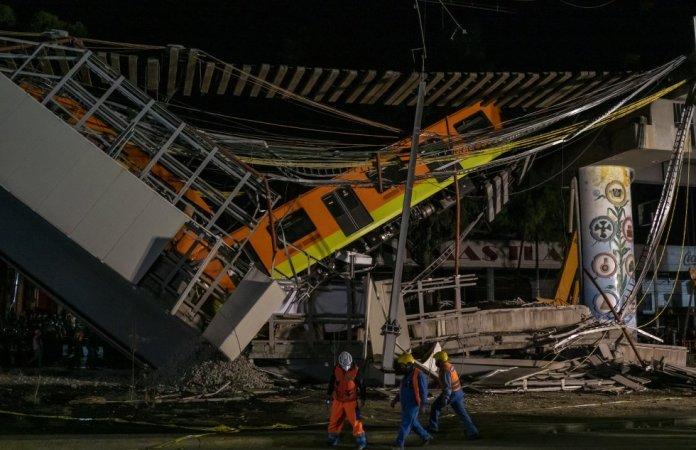 Tragedia: Desplome de tramo de metro en México deja 23 muertos y 65 heridos