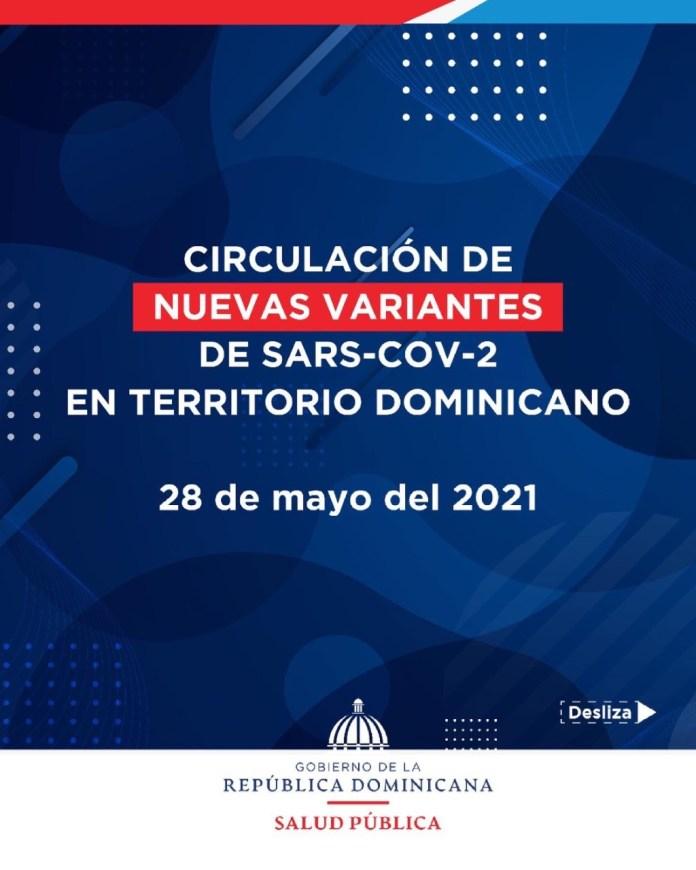 Salud Pública advierte circulan cuatro nuevas variantes de Covid en la República Dominicana