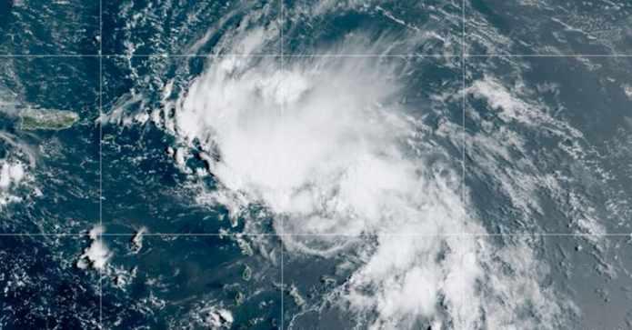 Claudette, la tercera tormenta tropical que se forma