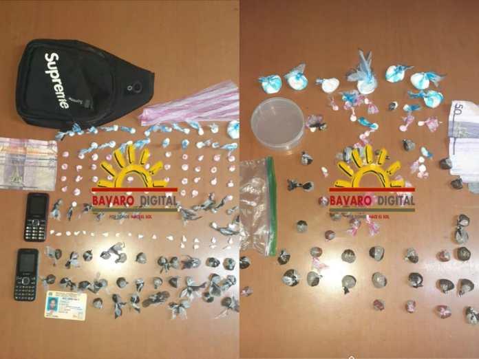 Droga y más droga en Verón-Punta Cana. Arrestan tres.