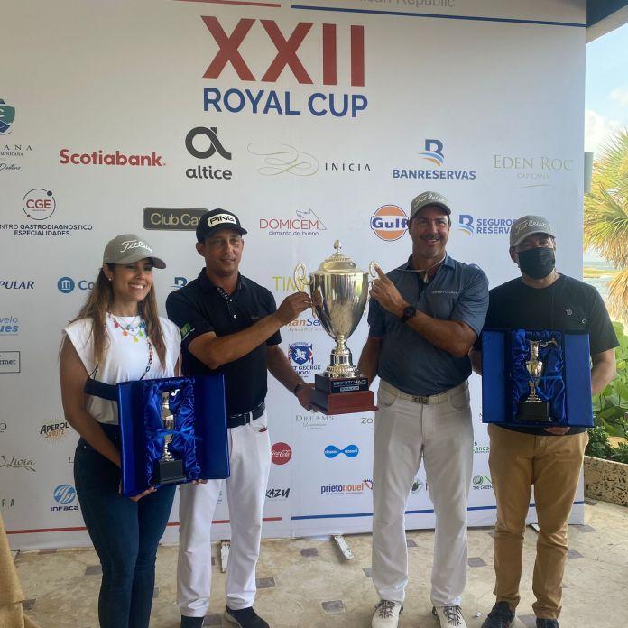 César Rodríguez y Marcel Olivares ganadores de la Royal Cup, en su versión XXII