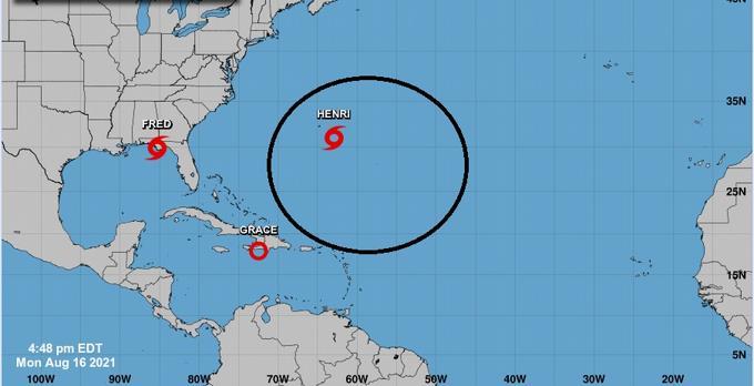 Henri es la nueva tormenta tropical pero no pasará cerca de RD
