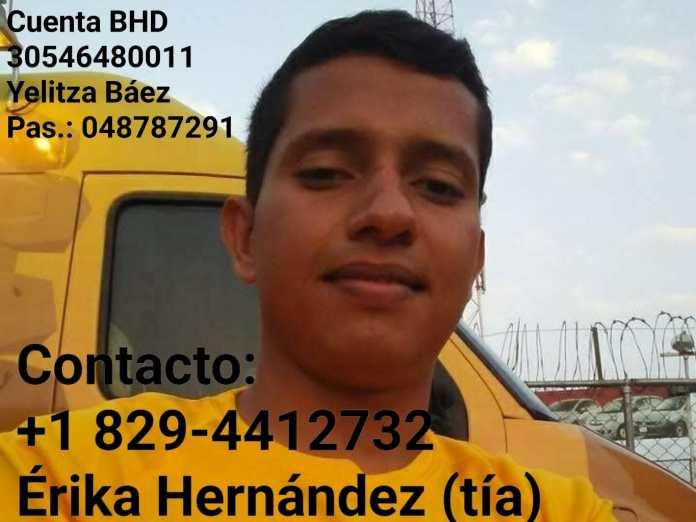 Joven venezolano sufrió accidente en Cabeza de Toro sigue hospitalizado y necesita aporte económico