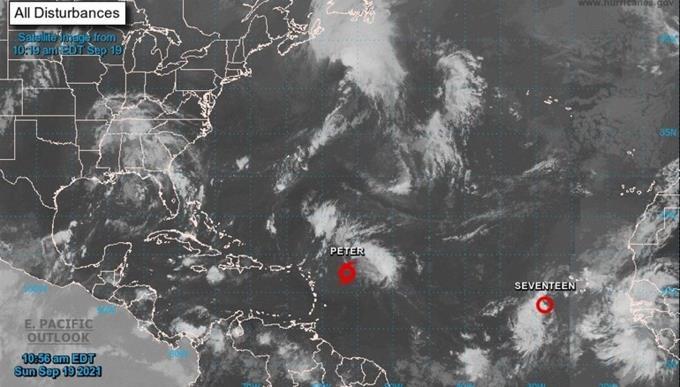 A Peter se suma en el Atlántico la tormenta tropical Rose