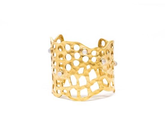 gold plated cuff