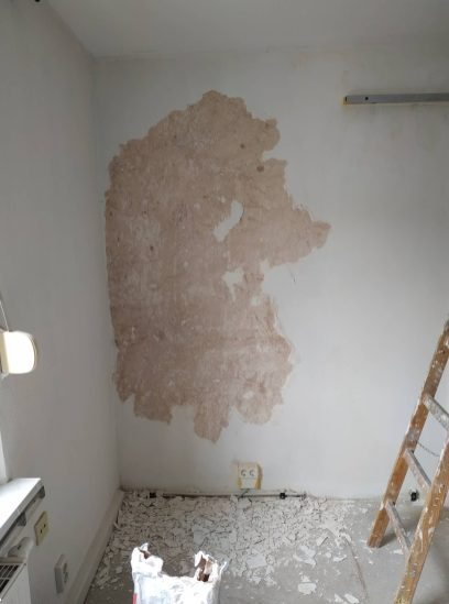 Wall scraping