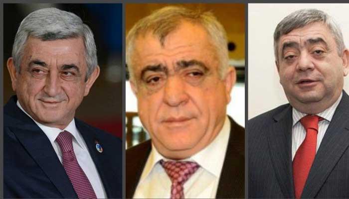 Սերժ Սարգսյանը, Սաշիկը և Լևոն Սարգսյանները լքել են Հայաստանը