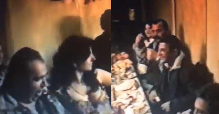 Ինչպես է Արթուր Աղաբեկյանը պորտապարուհու հետ արաբական պարում, իսկ Մանվել Գրիգորյանը քեֆլամիշ լինելով ծափ տալիս