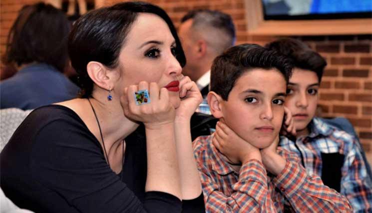 Լուսինե Բադալյանի որդին սկսել է նկարահանվել հեռուստասերիալում (Լուսանկարներ)