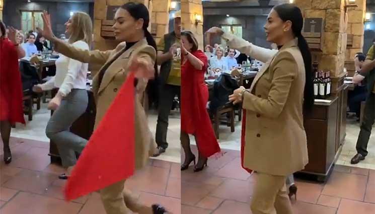Ռուս գեղեցկուհու պարը հայկական երաժշտության ներքո, հիացրել է ռեստորանի բոլոր հաճախորդներին (Տեսանյութ)